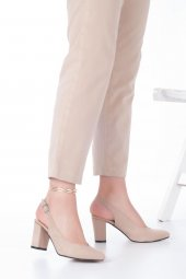 Aury Topuklu Ayakkabı Süet-6