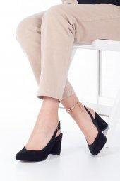 Aury Topuklu Ayakkabı Süet-7