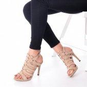 Ferix Topuklu Ayakkabı Süet