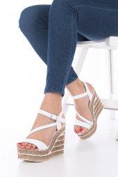 Candy Dolgu Topuklu Ayakkabı-3