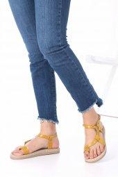 Mira Kadın Sandalet Deri-12