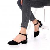 Alysum Topuklu Ayakkabı Süet-4