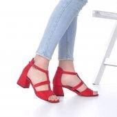 Magna Topuklu Ayakkabı Süet-2
