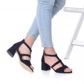 Magna Topuklu Ayakkabı Süet-4