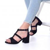 Magna Topuklu Ayakkabı Süet-5