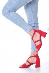 Magna Topuklu Ayakkabı Süet-7