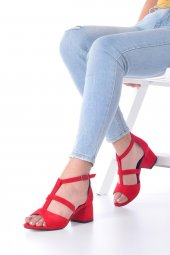 Magna Topuklu Ayakkabı Süet-10