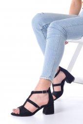 Magna Topuklu Ayakkabı Süet-11