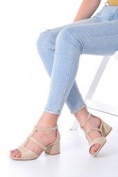Magna Topuklu Ayakkabı Süet-12