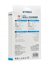 Syrox 2.6A Mikro Şarj Aleti-2
