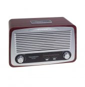 Technomax Nostaljik Radyo Bluetooth Usb Sd Giris Tm 6618