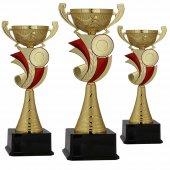 Başarı Derece Kupası K41 Metal Kupa Set 38 Cm Baskılı