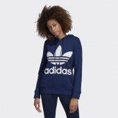 Adidas Trefoıl Hoodıe Kadın Giyim Sweatshirts Dv2568 (Beden 34)