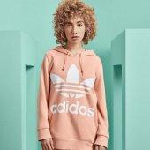 Adidas Trefoıl Hoodıe Kadın Giyim Sweatshirts Dv2560 (Beden 36)