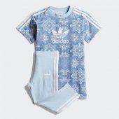 Adidas Cc Tee Set Bebek Giyim Eşofman Takımı Dv2327 (Beden 12 18 Ay)