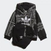 Adidas Bandana Hoodıe Bebek Giyim Eşofman Takımı Dw3844 (Beden 9 12 Ay)