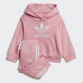 Adidas Trefoıl Hoodıe Bebek Giyim Eşofman Takımı Dv2810 (Beden 3 4 Yaş)