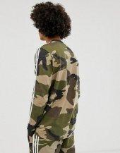 ADİDAS CAMO LS TEE Erkek  Giyim Tişört DV2055 (Beden: XS)-2