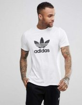 Adidas Trefoıl T Shırt Erkek Giyim Tişört Cw0710 (Beden M)