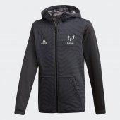 Adidas Yb M Fz Hoodıe Çocuk Giyim Sweatshirts Dj1276 (Beden 6 7 Yaş)