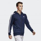 ADİDAS ESS 3S FZ B Erkek  Giyim Sweatshirt S98791 (Beden: M)-2