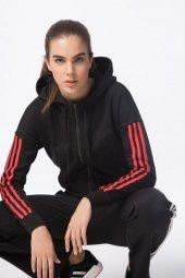 Adidas Ess 3s Fz Hd Kadın Giyim Sweatshirts S97063 (Beden S)