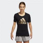Adidas Bos Foil Tee Kadın Giyim Tişört Dv3025 (Beden Xs)