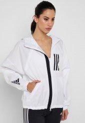 Adidas W Wnd Jkt Kadın Giyim Sweatshirts Dz0037 (Beden L)