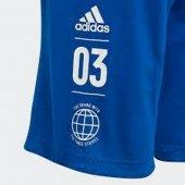 Adidas Yb Sıd Short Çocuk Giyim Şort Dv1703 (Beden 8 9 Yaş)