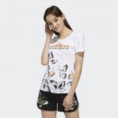 ADİDAS W FARM P TSHIRT Kadın  Giyim Tişört EI4828 (Beden: M)-2