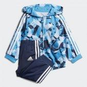 Adidas I Shıny Fzhd J Bebek Giyim Eşofman Takımı Dv1241 (Beden 18 24 Ay)