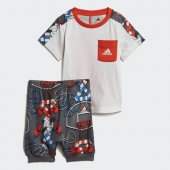 ADİDAS I ST SUM SET B Bebek  Giyim Eşofman Takımı DV1256 (Beden: 3-4 yaş)