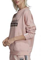 Adidas Sweatshirt Kadın Giyim Sweatshirts Ec0746 (Beden 40)