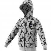 Adidas Yb Id Grfx Hd Çocuk Giyim Sweatshirts Ed6416 (Beden 4 5 Yaş)
