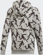 ADİDAS YB ID GRFX HD Çocuk  Giyim Sweatshirts ED6416 (Beden: 7-8 yaş)-2