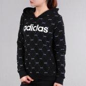 ADİDAS W CORE FAV HDY Kadın  Giyim Sweatshirts EI6255 (Beden: XS)