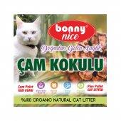 Bonny Nice Organik Çam Pelet Kedi Kumu 1.8 kg 3 l-3