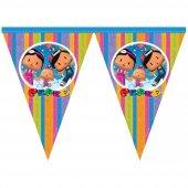 Pepee Flama 3mt 11 Bayrak Pepe Doğum Günü Parti...