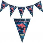 Spiderman Flama Örümcek Adam Doğum Günü Parti...
