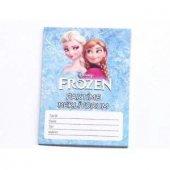 Elsa Anna Frozen Karlar Ülkesi 10lu Doğum Günü Parti Davetiyesi