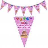 2 M Pembe Bayraklı Doğum Günün Kutlu Olsun...