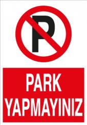 Park Yapmayınız