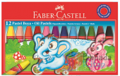 Faber Castell 12li Pastel Boya Ücretsiz Kargo