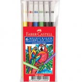 Faber Castell Keçeli Kalem 6lı Renk