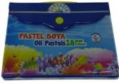 18 Renk Çantalı Pastel Boya Fantasia