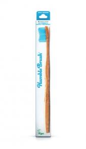 Humble Brush Yetişkin Diş Fırçası Medium Mavi