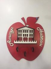 Elma Anahtarlık Askısı Amasya Posta Pazarı