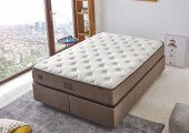 çift Kişilik Lüks Pamuklu Ergonomik Yatak 150x190 Cm Niron Organic Cotton