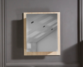 OTTO Puket Ceviz Rengi 60 cm Aynalı Üst Banyo Dolabı-2