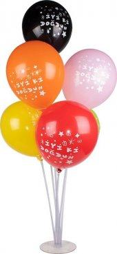 Ayaklı Balon Standı 7 Çubuklu Stand 2 Adet Orjinal Ürün Ücretsiz Kargo